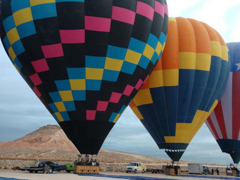 Vegas Hot Air Sin City Balloon Rides