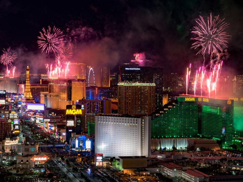 America's Party: Las Vegas New Year 2020