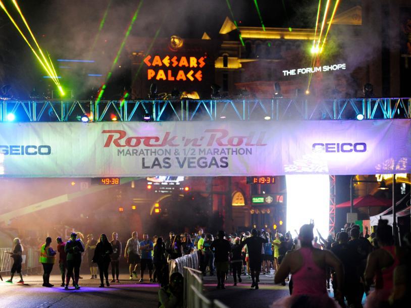 Rock 'n' Roll LV Marathon & 1/2 Marathon