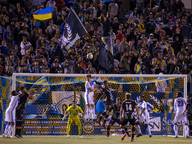 LV Lights FC vs LA Galaxy II