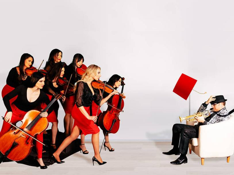 """David Perrico Pop Strings Orchestra - """"Christmas Concert"""""""