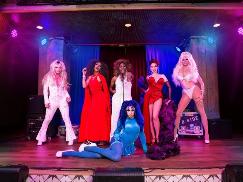 Drag Queen Cuisine with Toni James & Derrick Barry at B Side
