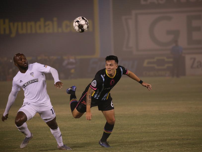 LV Lights Soccer vs. Portland Timbers 2