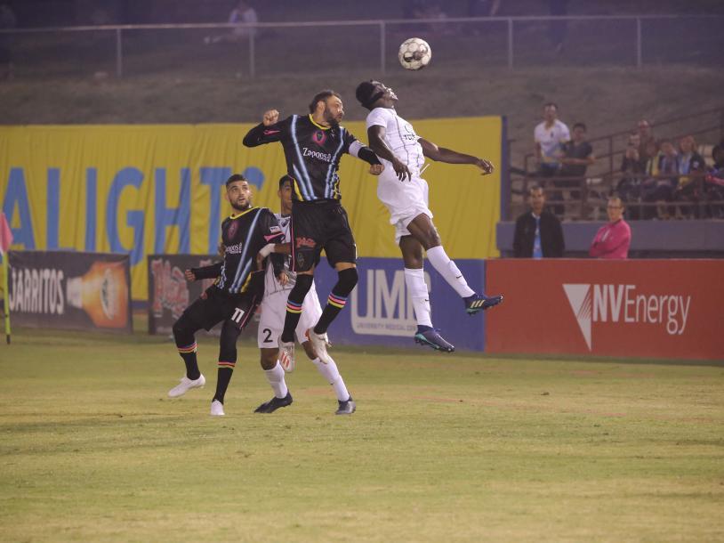 LV Lights Soccer vs. El Paso Locomotive FC