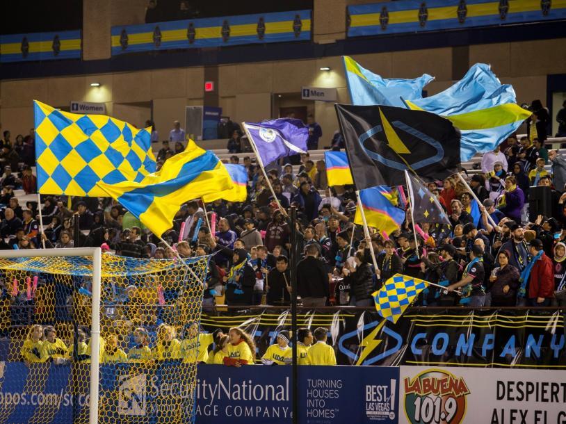 LV Lights FC vs Oakland Roots SC