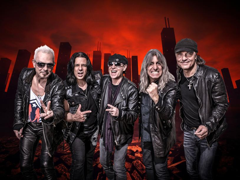 """Scorpions """"Sin City Nights"""" with Queensryche"""