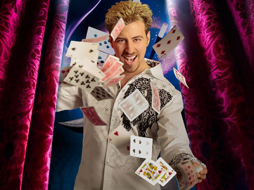 Amazing Magic starring Tommy Wind
