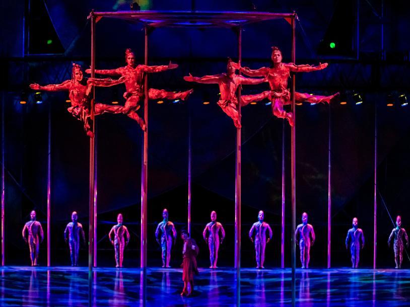 Mystère- by Cirque du Soleil
