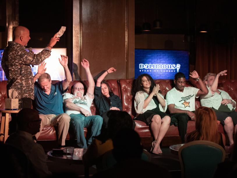 Don Barnhart's Hypnomania Comedy Show