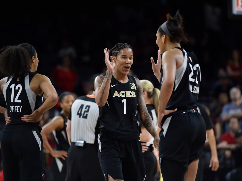 Las Vegas Aces vs Los Angeles Sparks