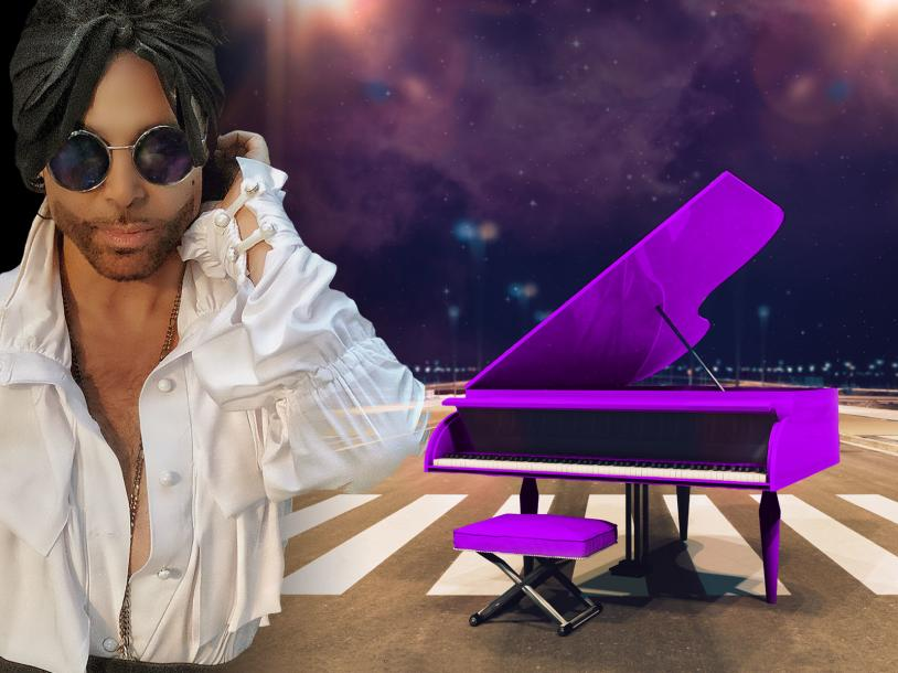 Purple Piano
