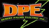 Desert Palms Electric Logo