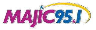 Majic 95.1 Logo