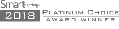 Smart Meetings Platinum Choice Award Winner 2018
