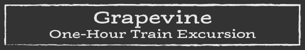 Grapevine One Hour Train