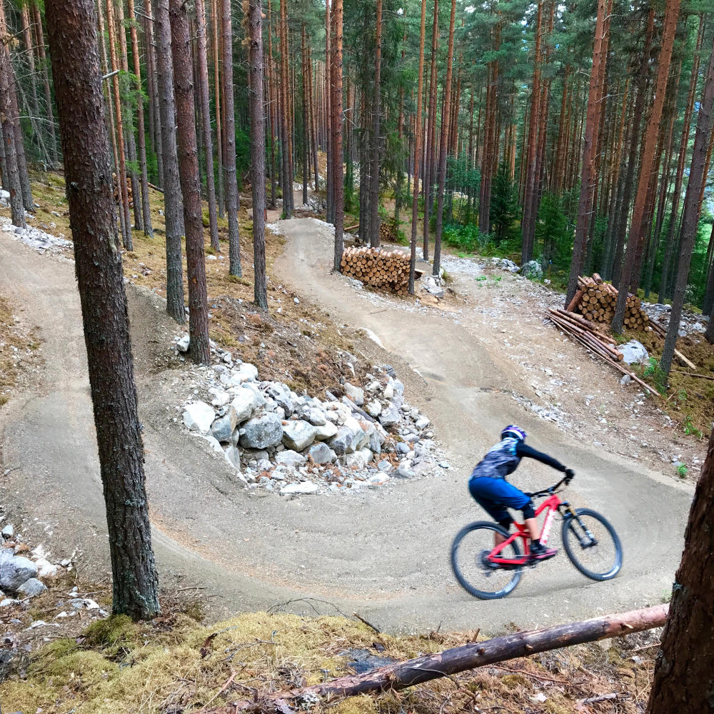 Trail biking Nesbyen