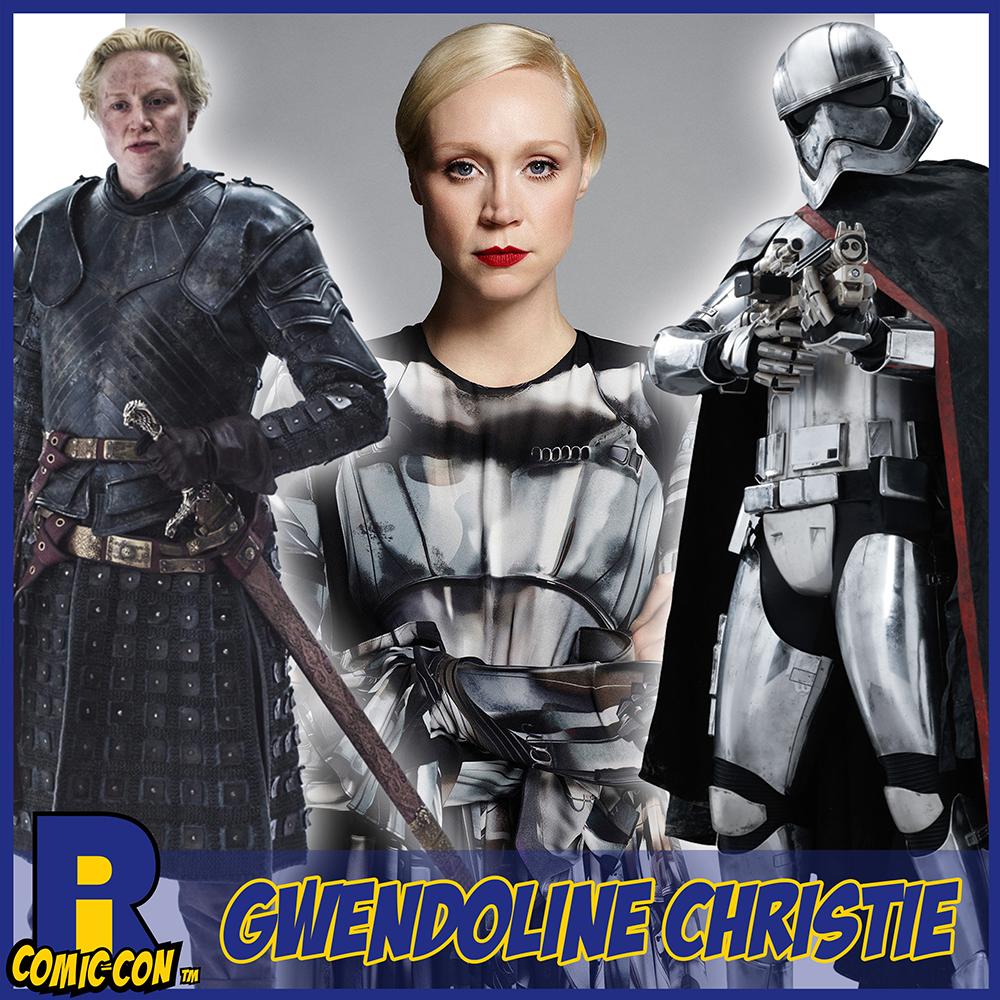 Gwendoline Christie RI Comic Con Poster Captain Phasma