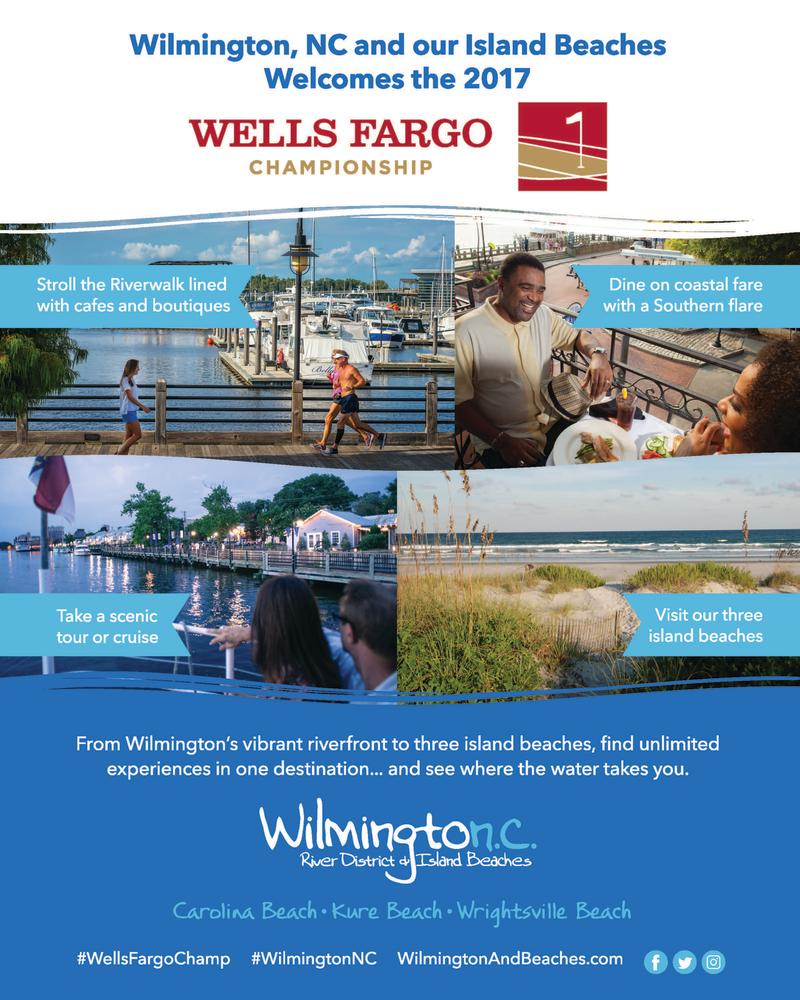 Wells Fargo Championship Desk Sign