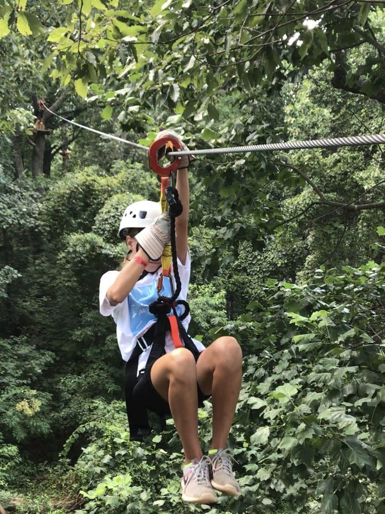 Screaming Eagle Zip Line adventure
