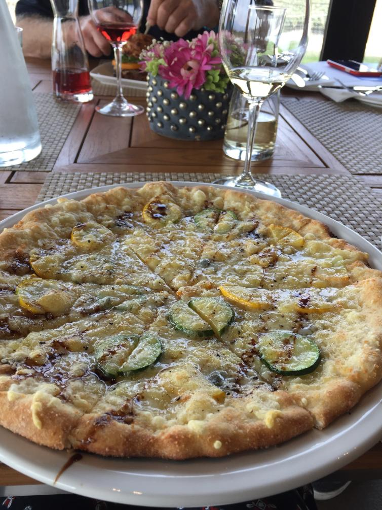 Pizza at The Chase Winery