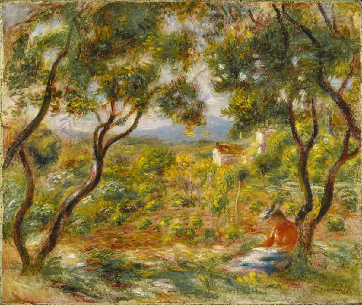 WAG Winnipeg Art Gallery_Summer with the Impressionists_woman in forest