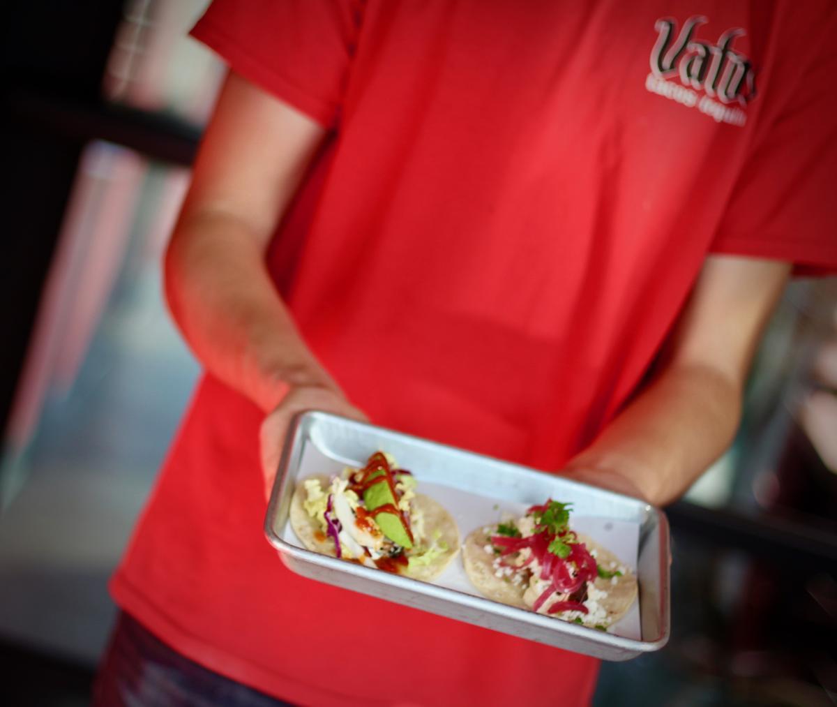 Vato's Tacos Taco Plate