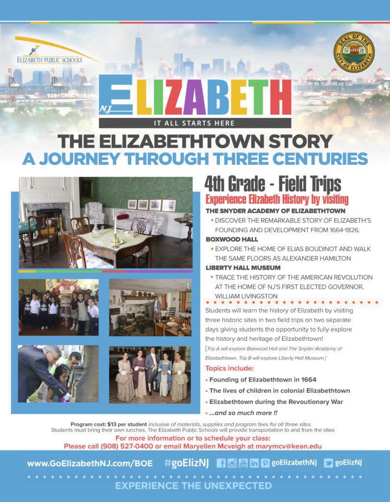 The Elizabethtown Story Flyer