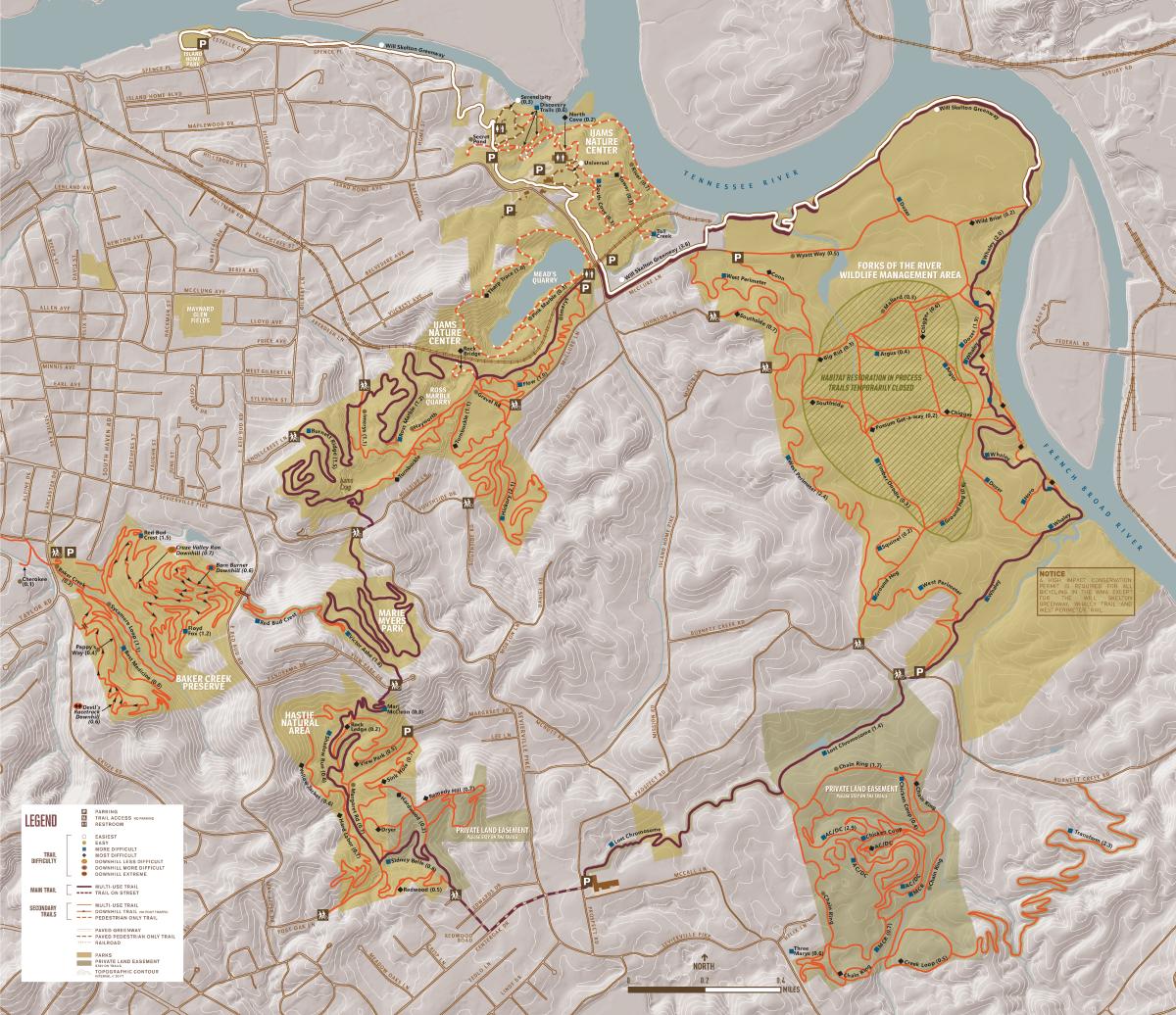 Urban Wilderness Map