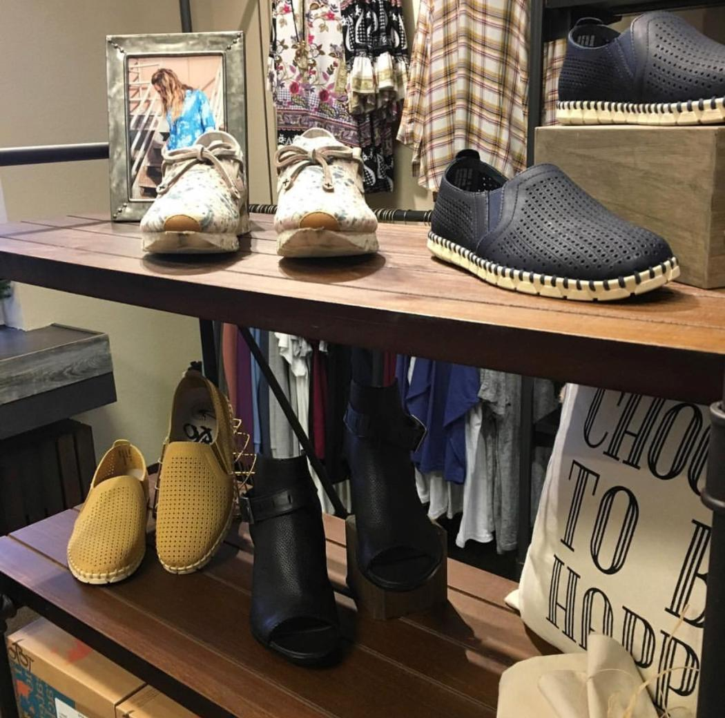 Madd Style Shoes Display