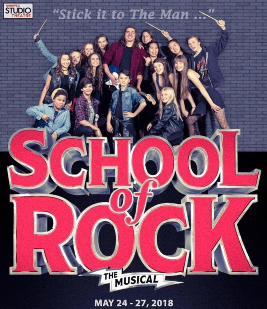 School of Rock Winnipeg Studio Theatre