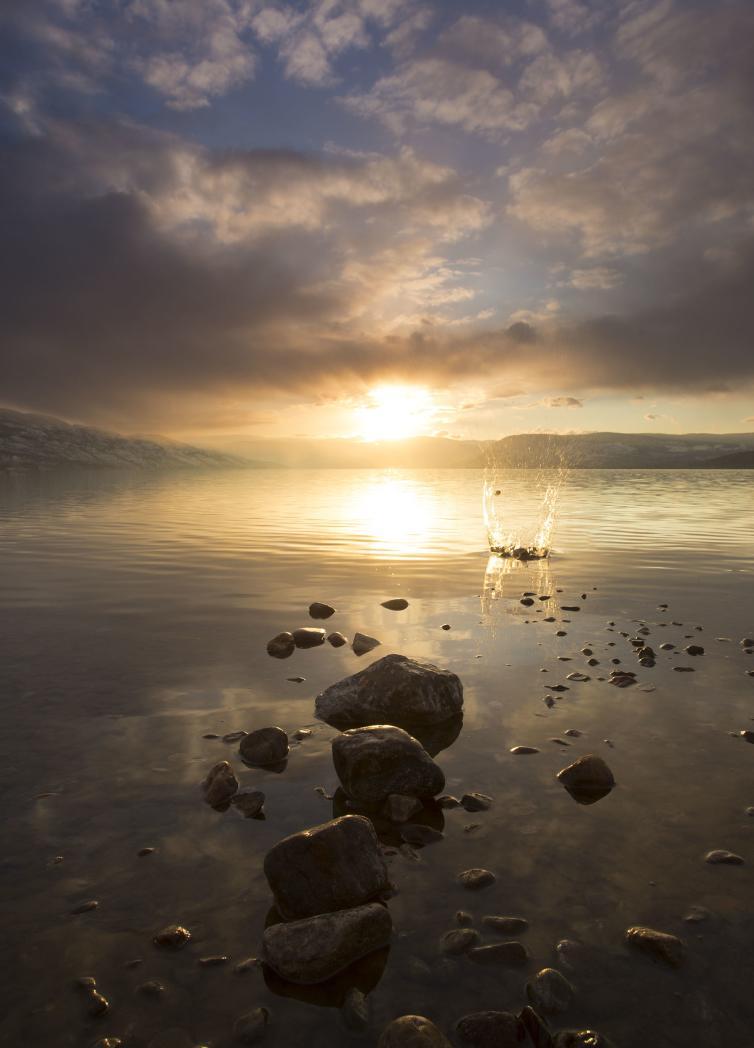 Sarson's Beach Sunset