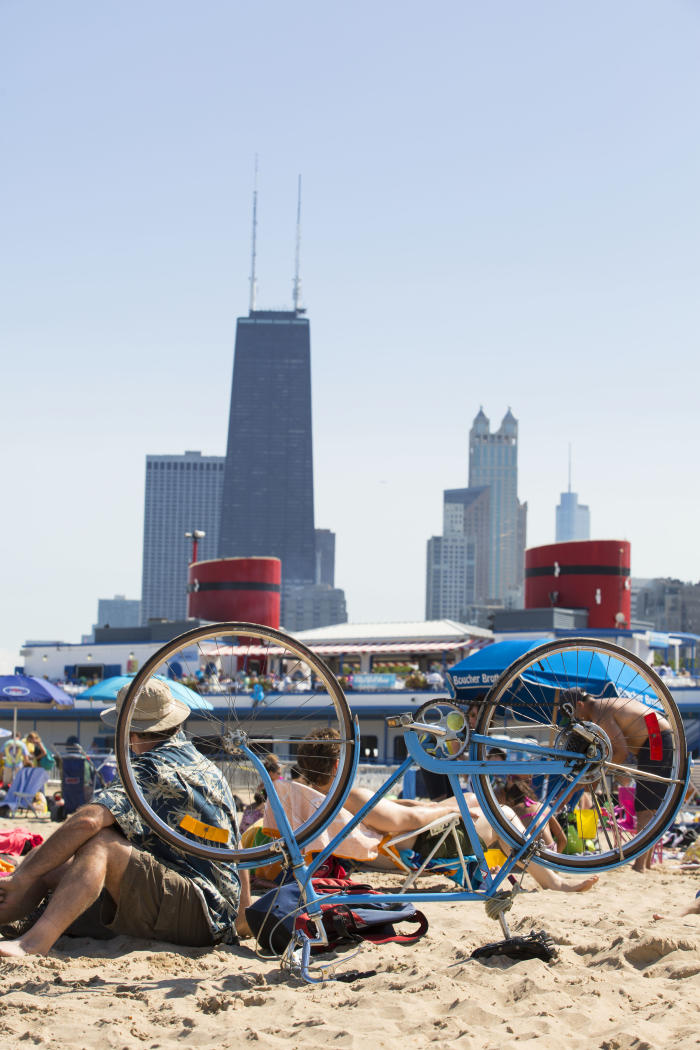 North Avenue Beach- Bike