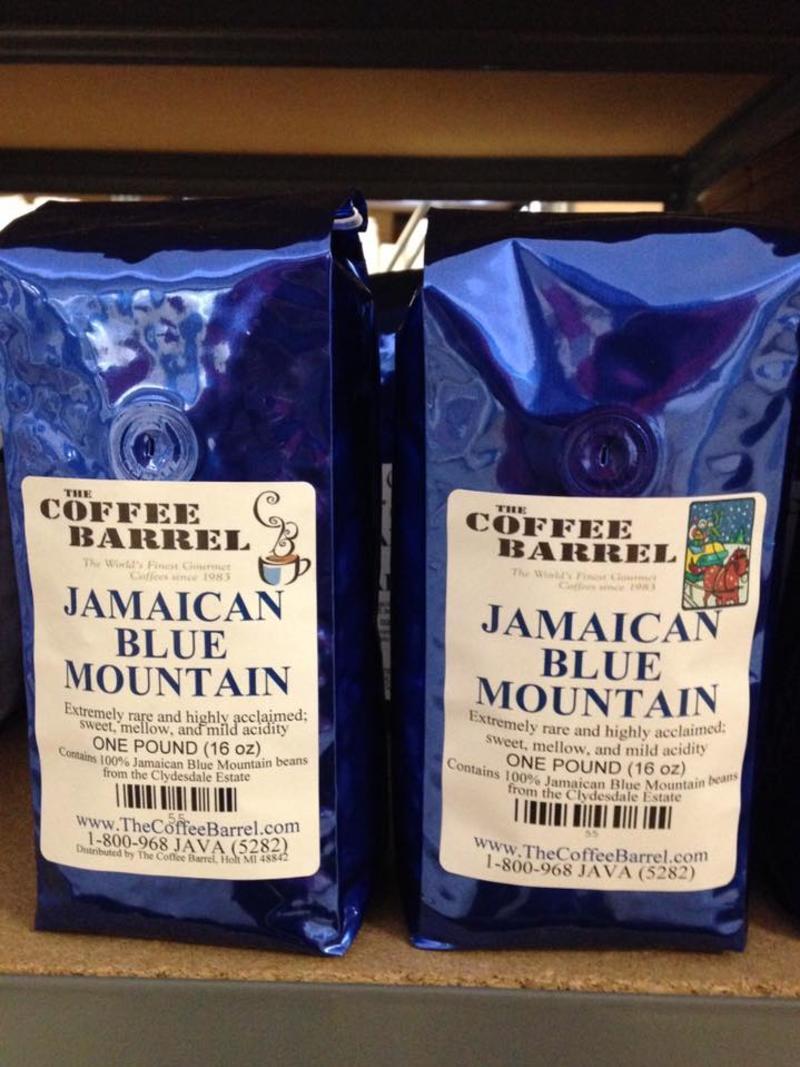 Coffee Barrel coffee