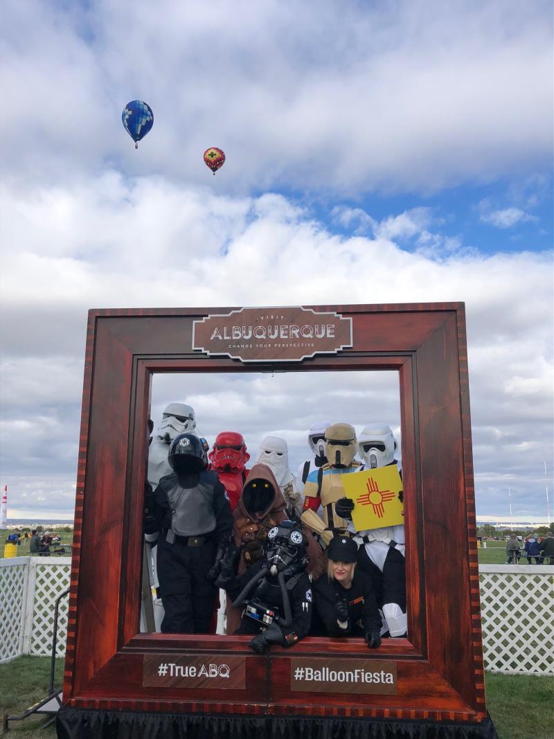 Balloon Fiesta Frame Star Wars
