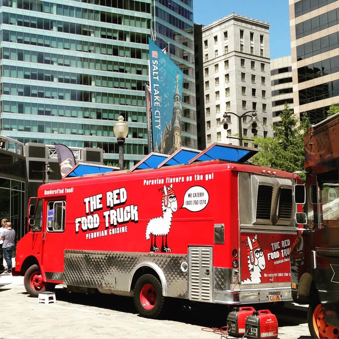 The Red Food Truck
