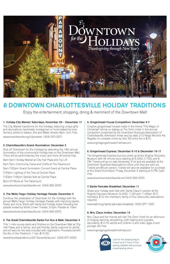 Downtown for the Holidays