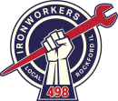 Local 498 Ironworkers logo