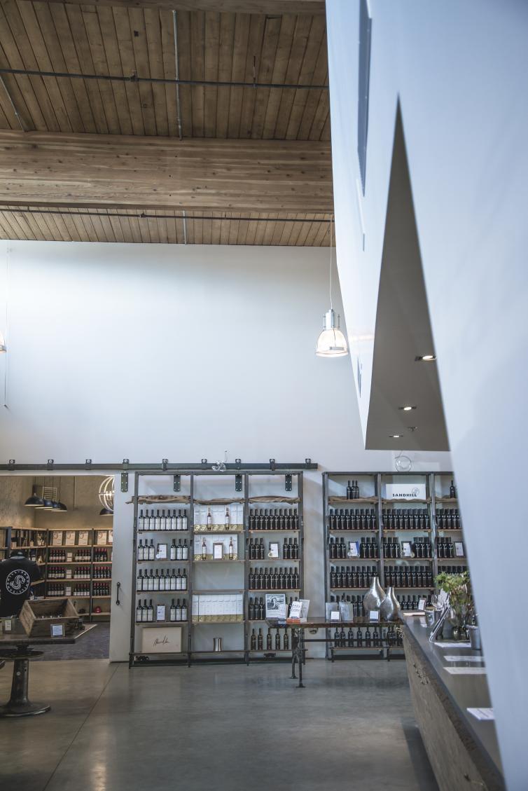 Sandhill Winery - Inside