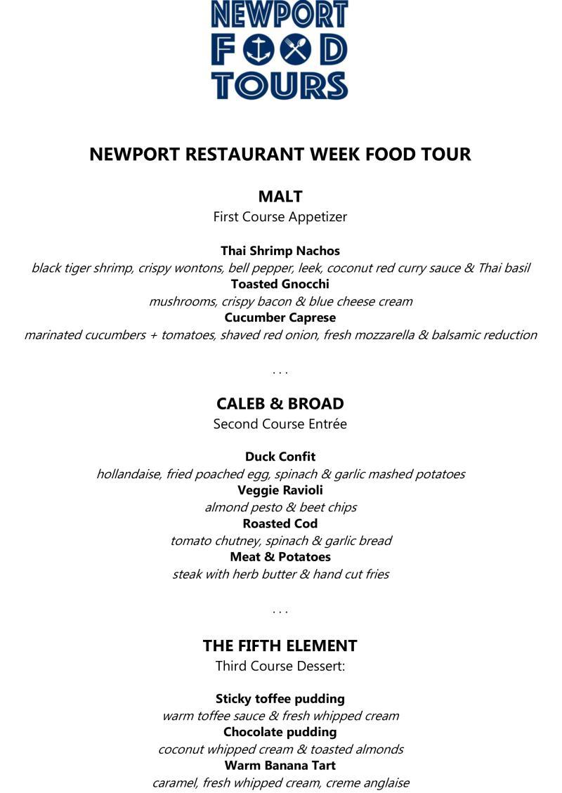 NRW Food Tour Final