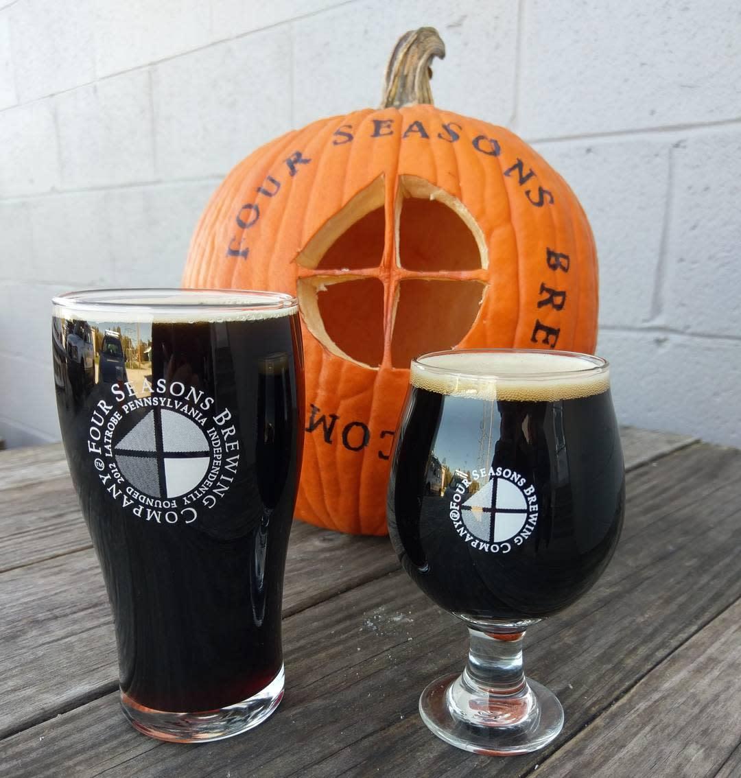 Four Seasons Fall beers