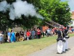 The Farmers' Museum in Cooperstown marks Independence Day on July 4 with the sounds of 1776. Hear the muskets blast with our Militia Muster and hear history happen with a reading of the Declaration of Independence on the historic village green at 1:00 pm.