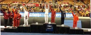 Gymnastics Podium