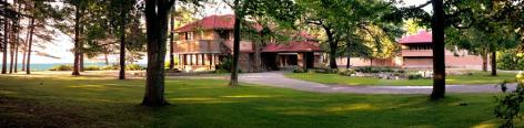 Graycliff Estate in Derby, NY, on the Great Lakes Seaway Trail. Photo: Schmitter, Graycliff Conservancy
