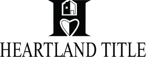 Heartland Title H is house on top and heart on bottom in negative space