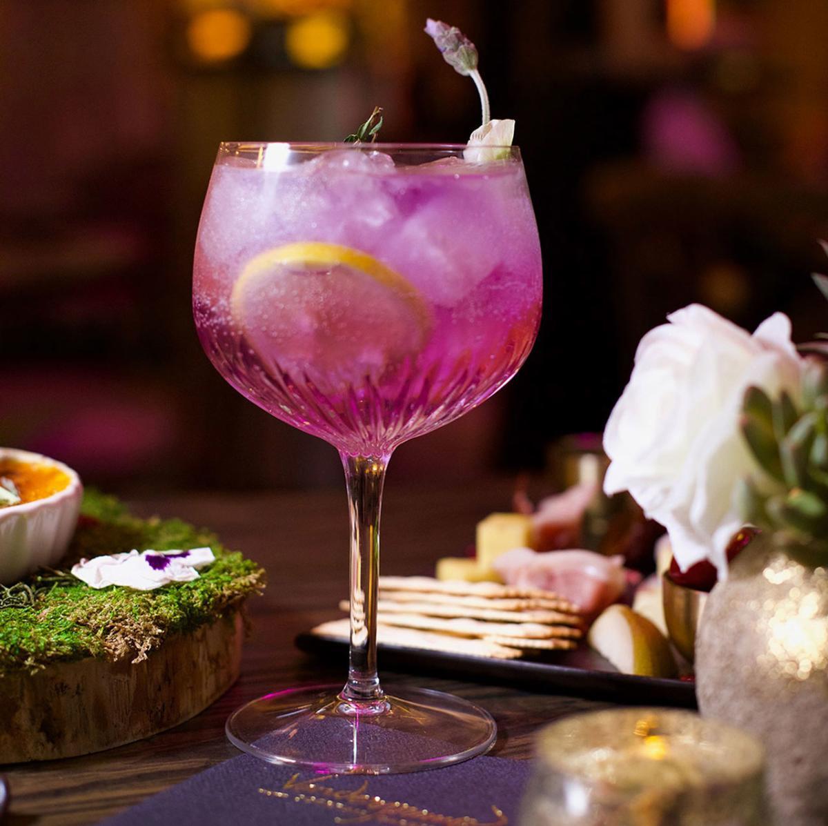 The Giggy Tonic at Vanderpump Cocktail Garden