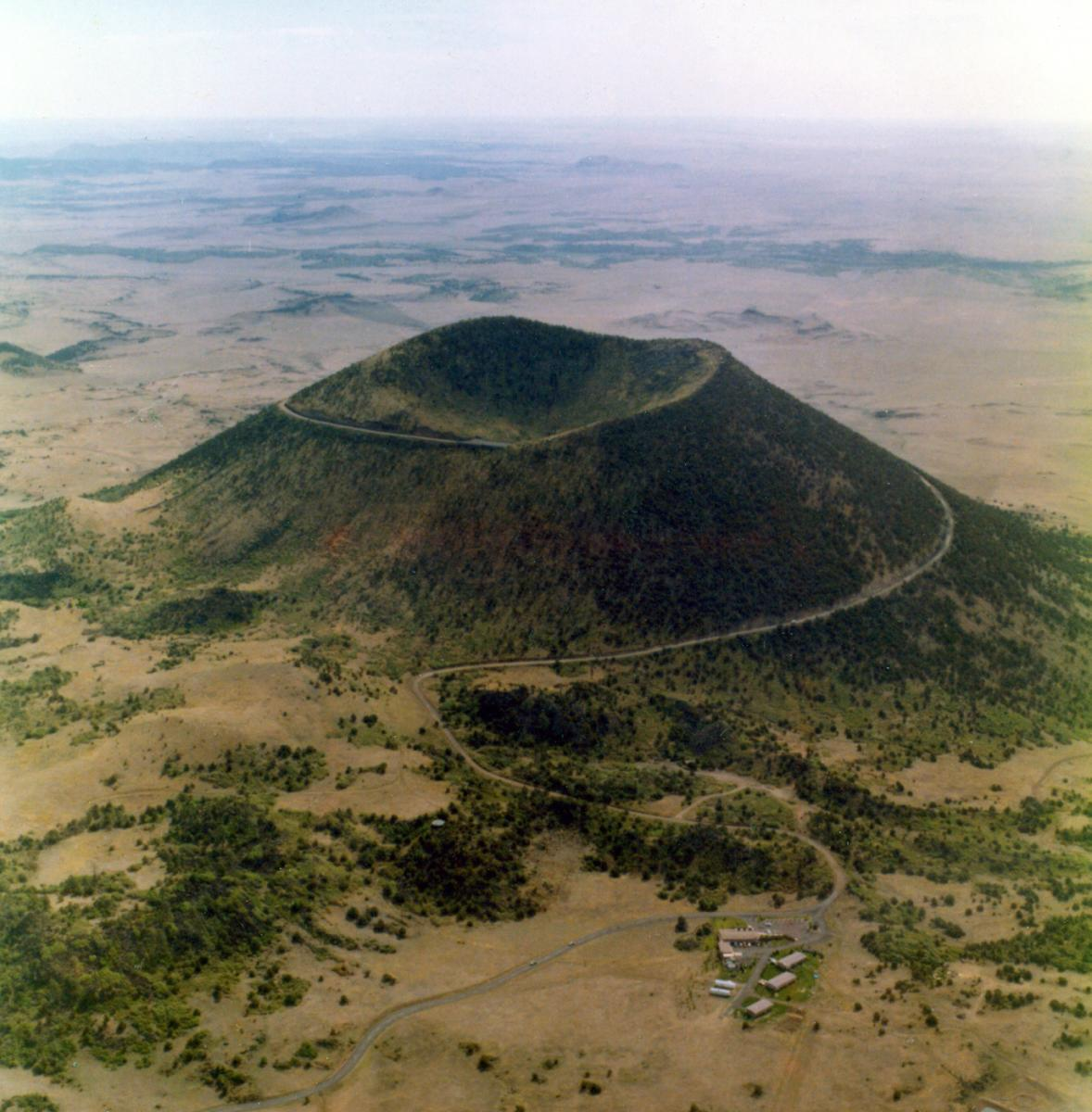 Capulin Volcano National Monument Arial