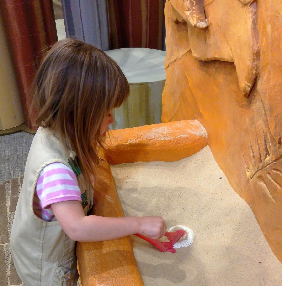 Big Dig at Bucks County Children's Museum