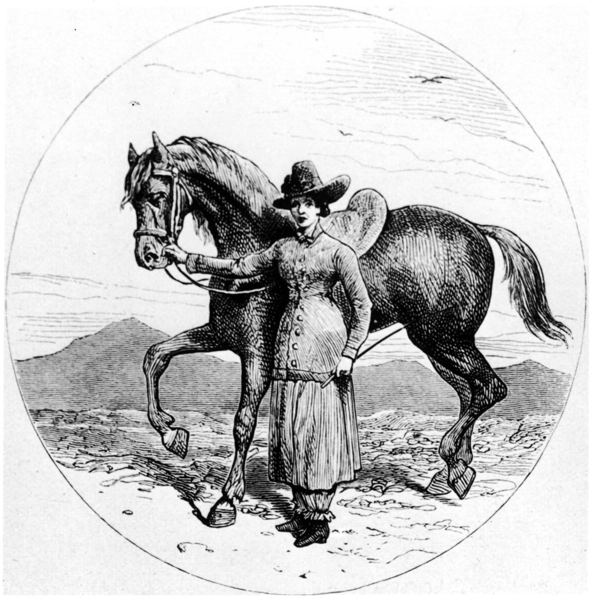 Isabella Bird & Horse