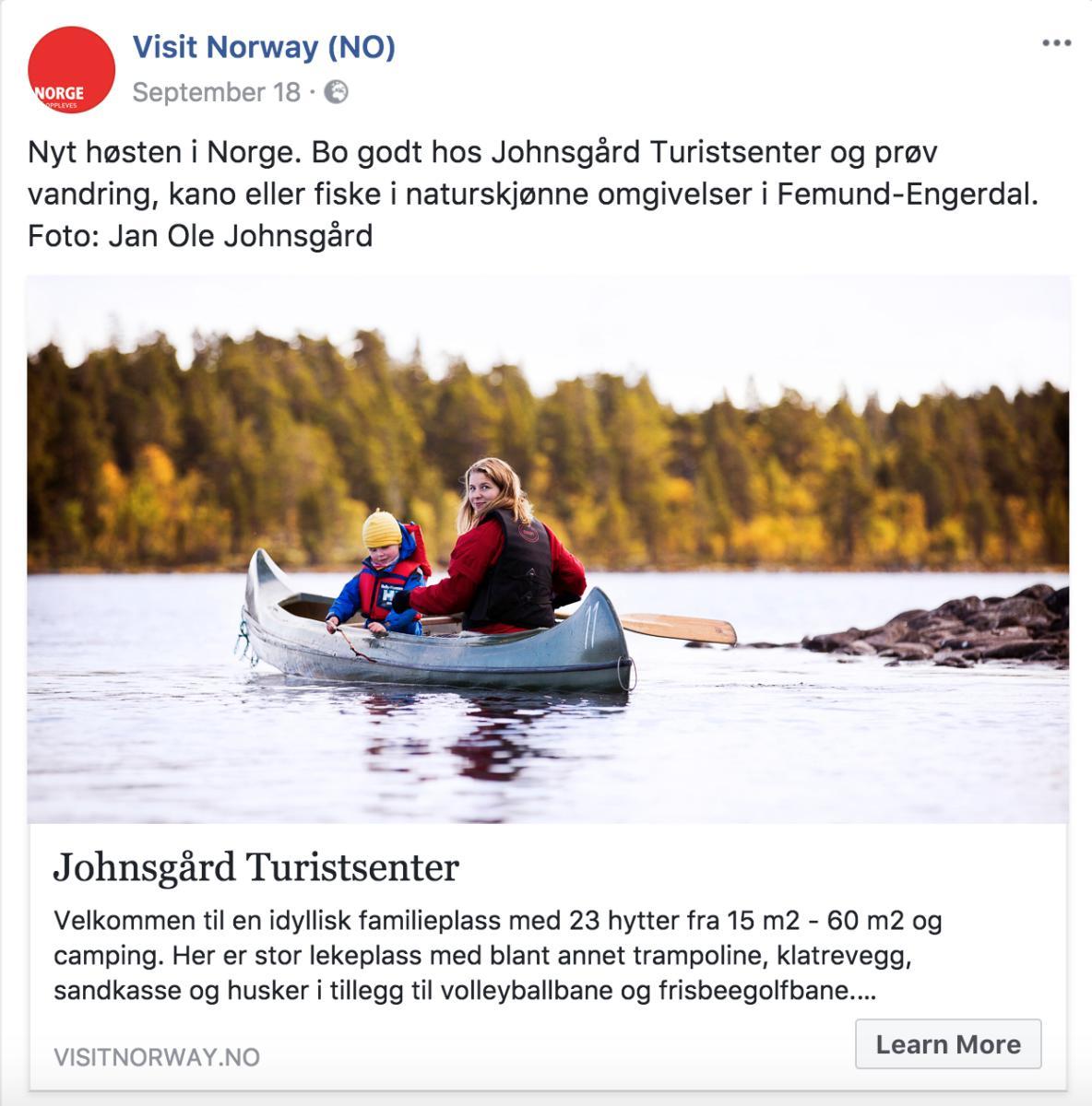Bygdeturismekampanjen FB høst