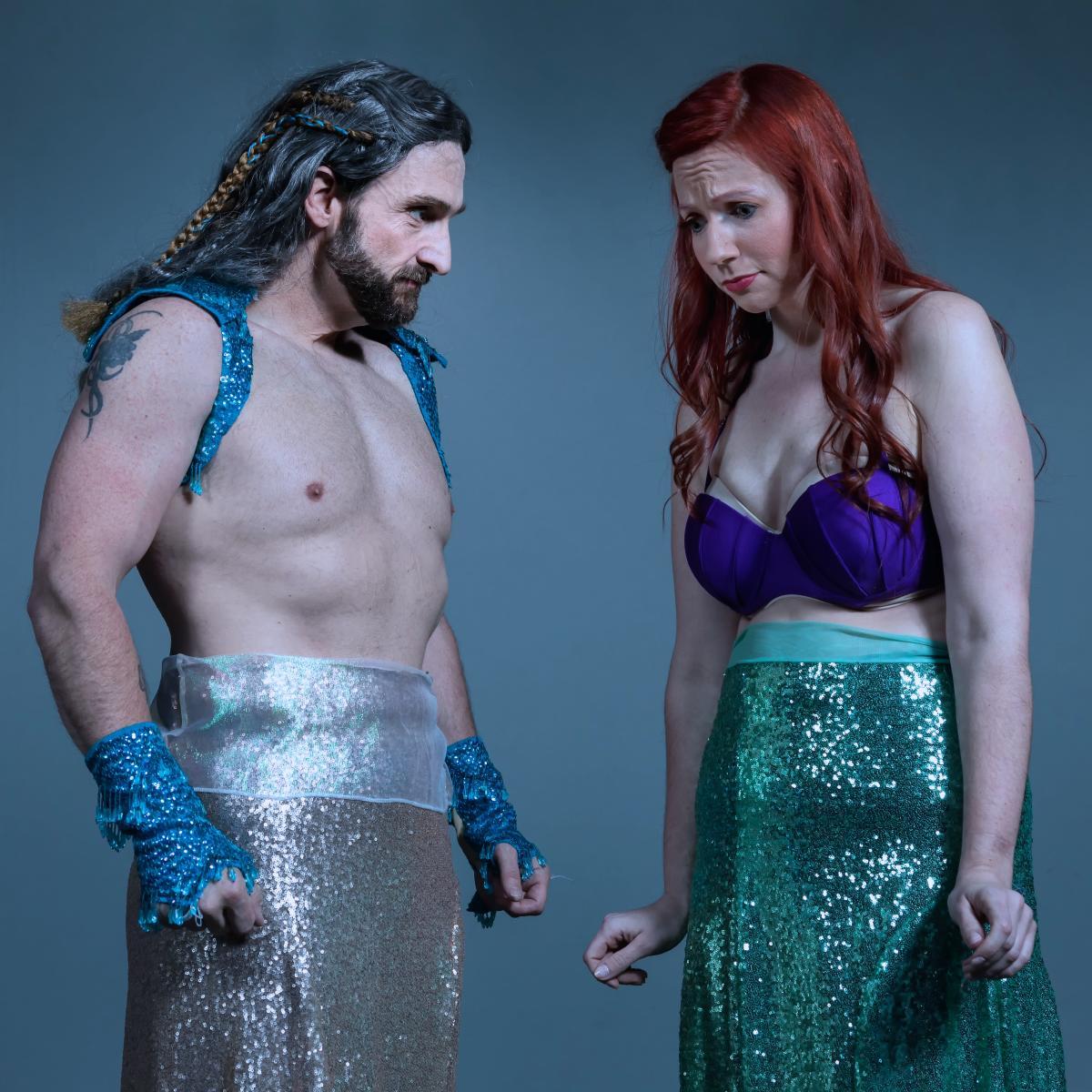 Ariel and Triton